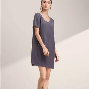 Aritzia Wilfred Free Teigen T- Shirt Dress Purple